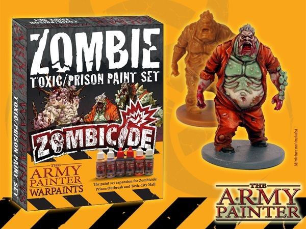 WARPAINTS Zombicide Toxic Prison Expansion Paint Set