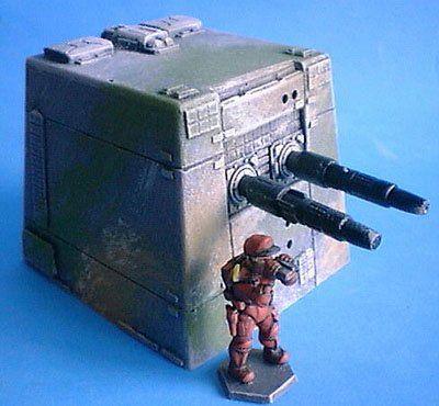Battle Gun Turret