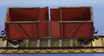 RM-342-R offener Güterwaggon (K, H, 2, R)