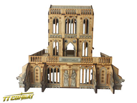 Gothic Ruined Servitialis - Sci-Fi-Gothic Scenics