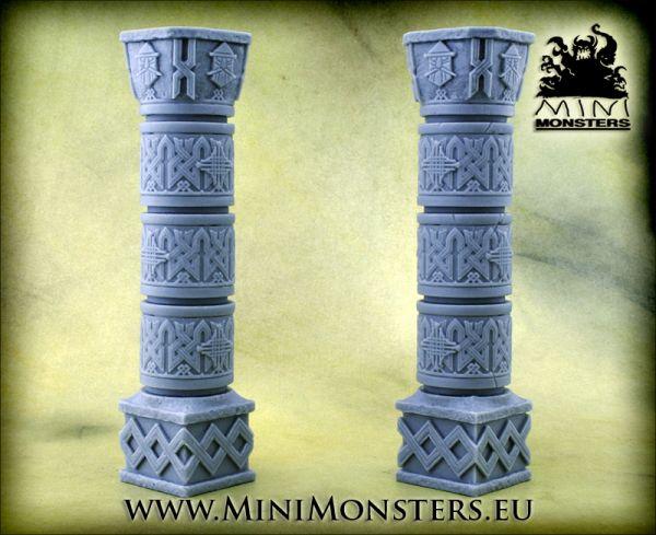 Imposant und eines Zwergen würdig, die beiden Säulen von Minimonster schmücken jede Tabletop Platte.