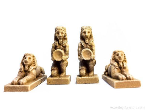 Sphinx and Waterboys / Sphinx und Wasserträger