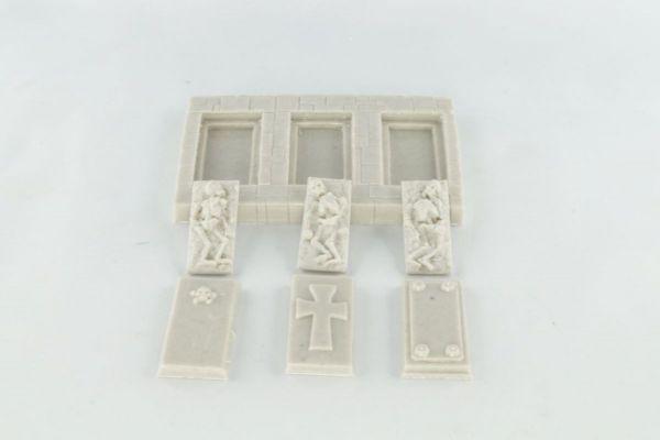 6cm x 9cm Grave Set