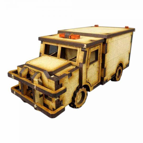 Armoured Truck - City Scenics