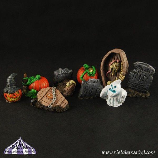 Das Halloween Kit von Ristul fängt das Thema gut ein.