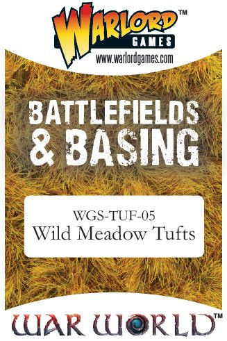 Wild Meadow Tufts von Warlord Games (Warworld)