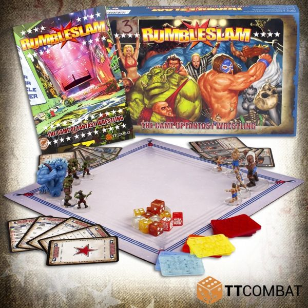Rumbleslam 2 Player Starter Box new Edition