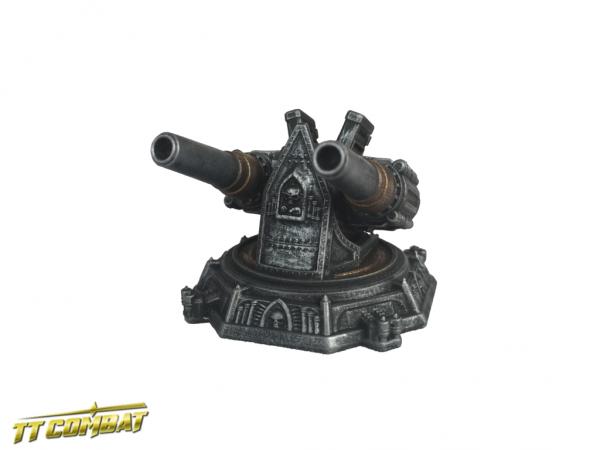 Siege Cannon Platform - Sci-Fi Gothic Scenics