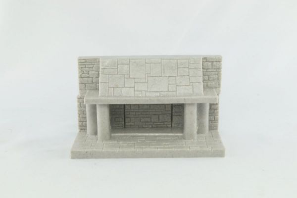 9cm Dungeon Fireplace with Secret Door