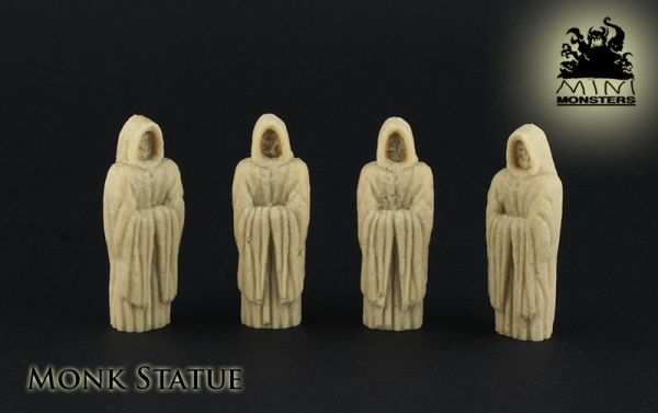 5 Statuen für schönen Kloster- oder Friedhofs Dioramen