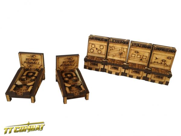 Arcade Cabinets and Pinball Machines - City Scenics