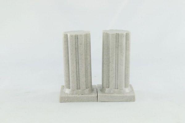 3cm Fluted Pillar x2