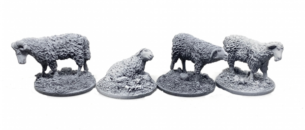 4 Schafe Set II