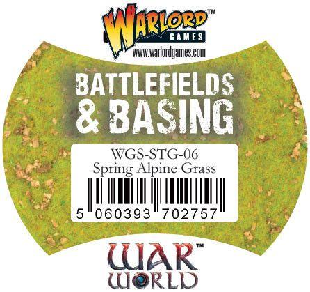 Spring Alpine Grass von Warlord Games (Warworld)
