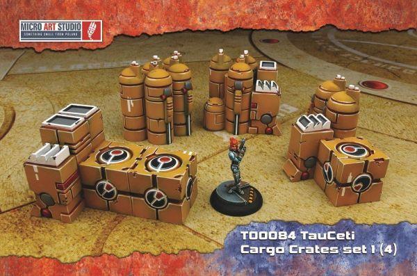 Diese Crates sind wundervolle SciFi Objekte die man für eine Vielzahl von Zwecken verwenden kann.