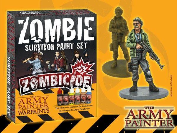 WARPAINTS Zombicide Zombicide Survivor Paint Set