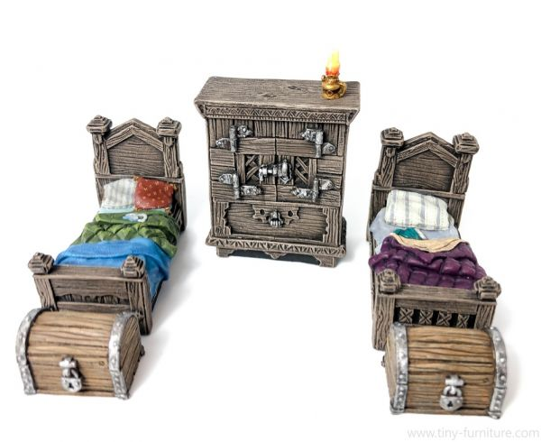 Burgher's Bedroom / Bürgerliche Schlafstube