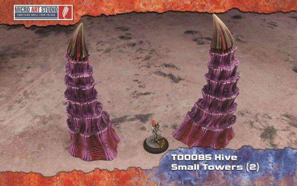 Hive Small Towers von Micro Art Studio für alle Tabletops Systeme geeignet