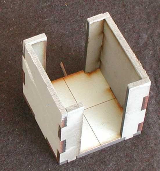 Solch ein Korridor ist 4 mal im Lieferumfang enthalten. Modulares Terra-Blocks™ Gelände von Sally 4th