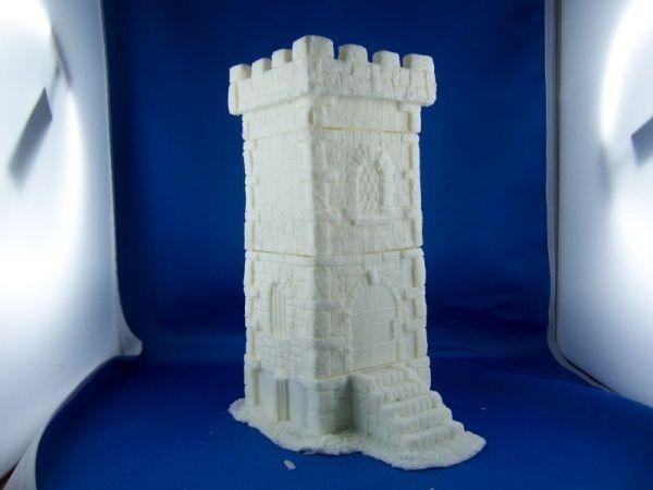 Modularer Turm, Vorderansicht