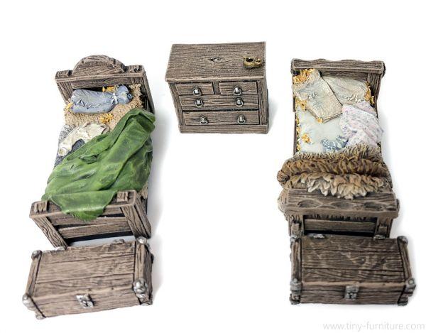 Peasant's Bedroom / Bäuerliche Schlafstube