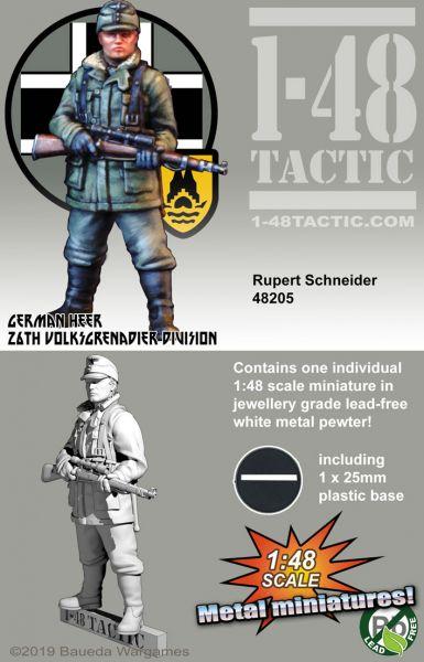 Rupert Schneider - German 26th Volksgrenadier