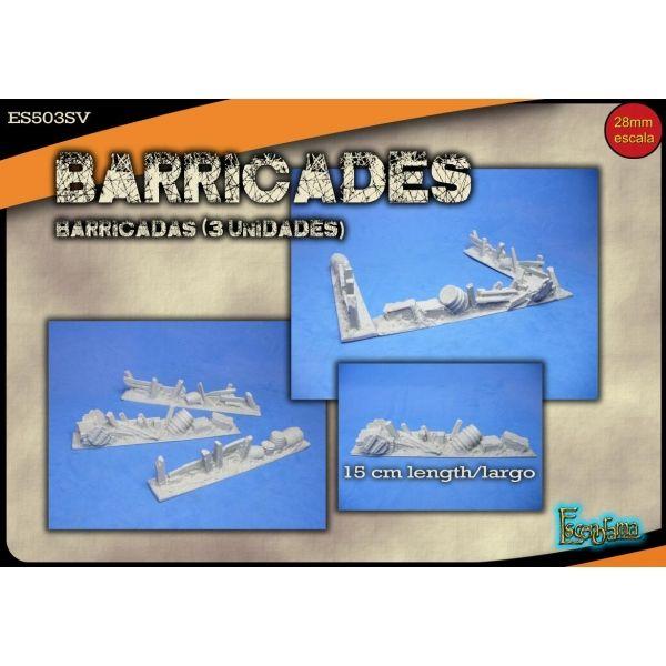 Barricades 28mm
