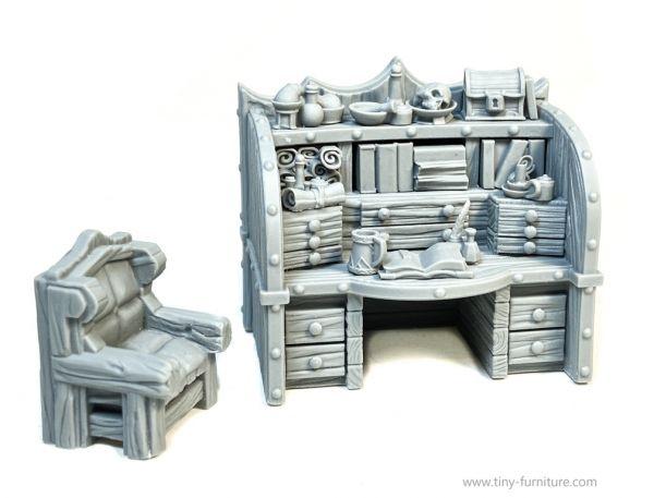 Dark Magister Workplace / Schreibtisch des dunkeln Magisters (neue Version)