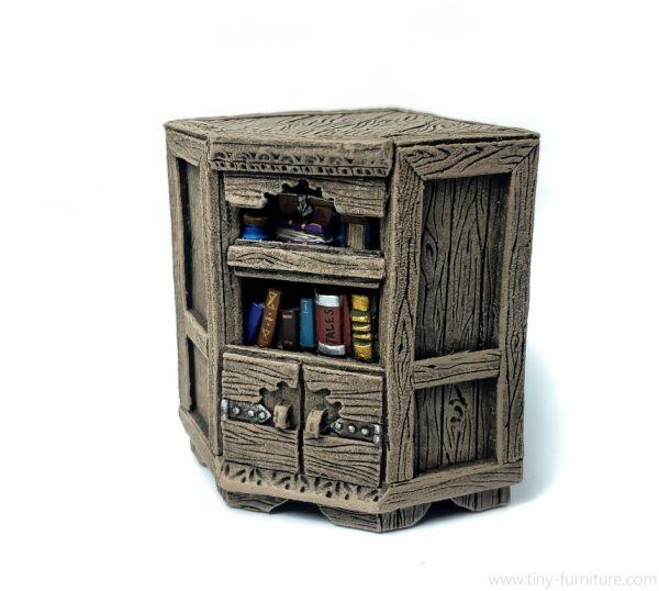 Librarian Corner Bookshelf / Bücher Eckregal