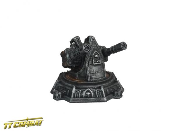 Gatling Gun Platform - Sci-Fi Gothic Scenics