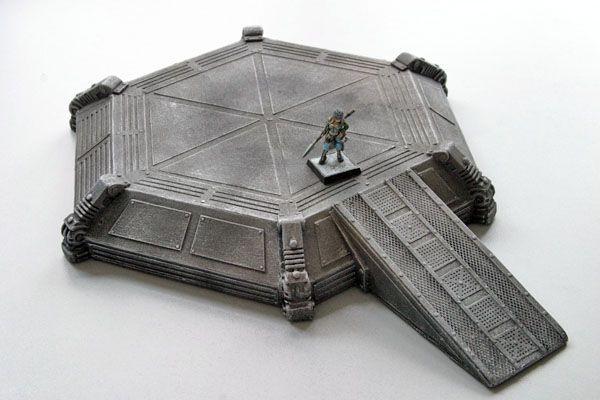 Landeplattform für SciFi Tabletop Spiele