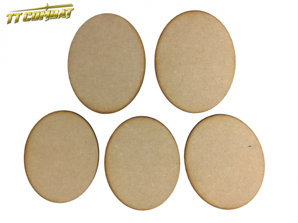 MDF Oval Bases 120mm x 95mm