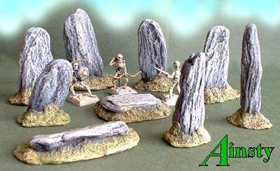 Stone Circle Set x9 Pieces