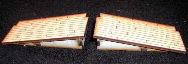 Als Ergänzung zur Laderampe mit Schiebetor oder zum einzeln Verwenden. Modulares Terra-Blocks™ Tabletop Gelände von Sally 4th