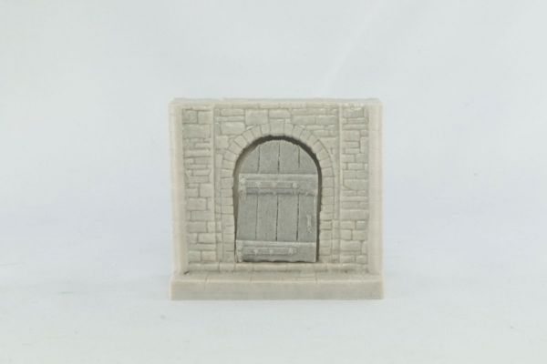 6cm Dungeon Wall Door Section
