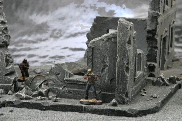 Stadtkampf Ruine für alle modernen Tabletops