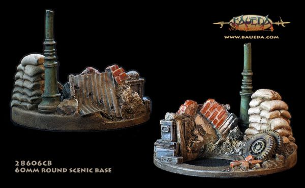 Raw Cover - 60mm Round Scenic Base