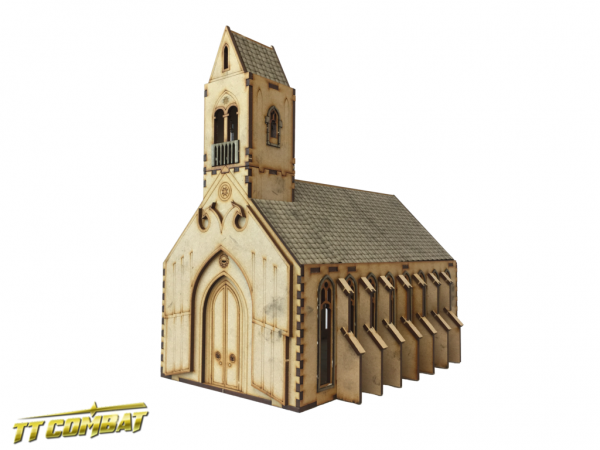 Gothic Chapel - Sci-Fi-Gothic Scenics