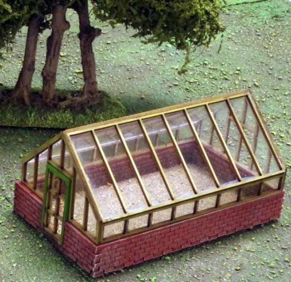 Greenhouse / Gewächshaus komplett Set
