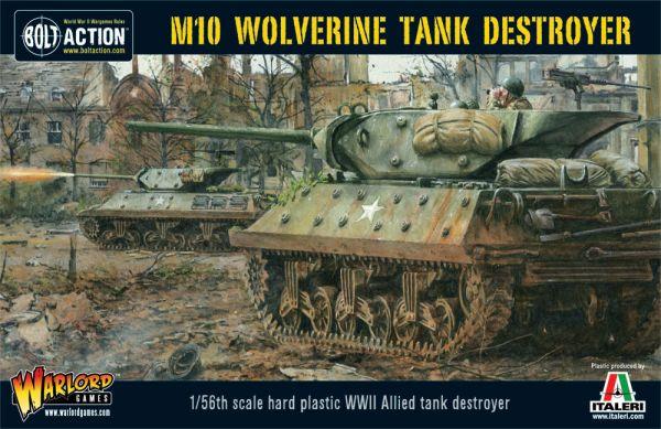 US M10 Wolverine Tank Destroyer Platoon