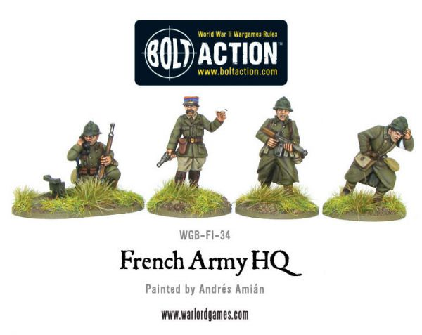 French Army: HQ