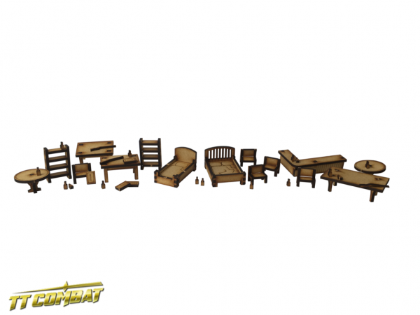 Furniture Pack - Wild West Scenics