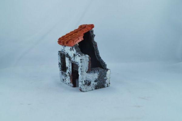 verputzte Ruine Paolo, Bild leider ohne Schutthaufen