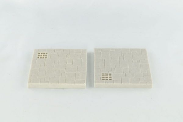 6cm x 6cm Dungeon Floor with Small Grill x2