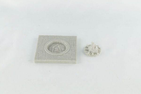 6cm x 6cm Dungeon Floor Fire Pit