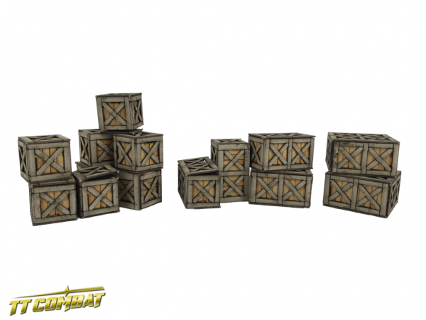 Warehouse Boxes - City Scenics