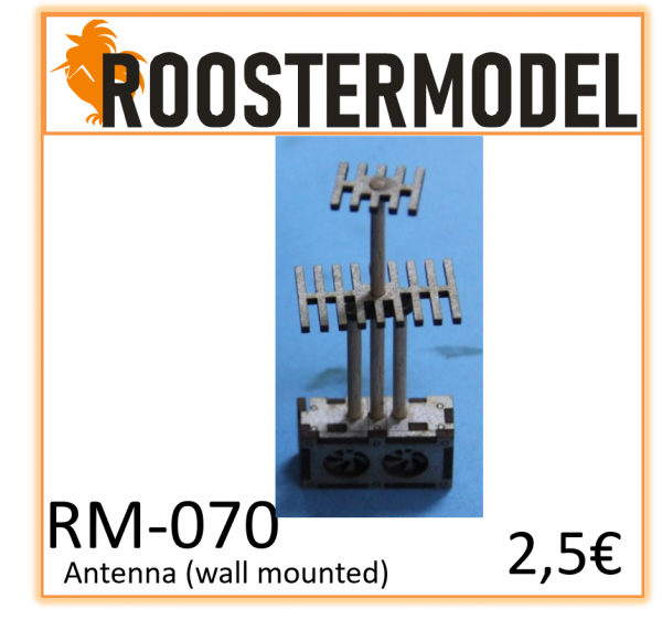 Antenna wall mounted