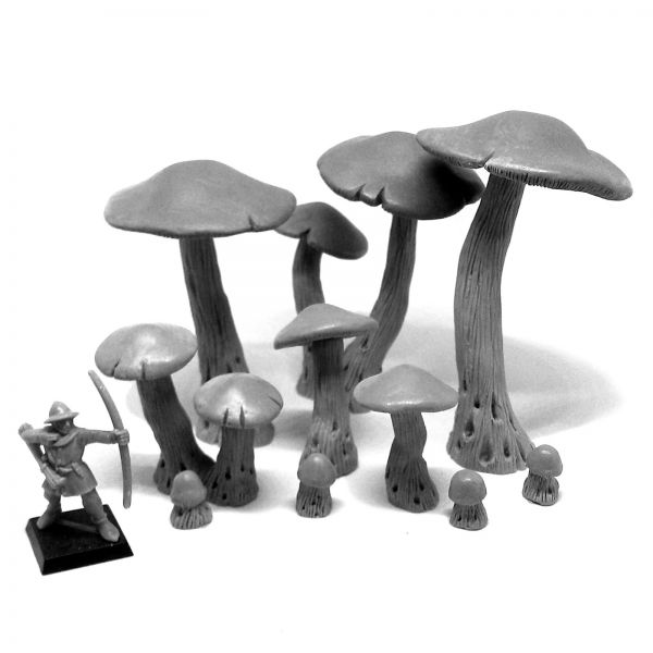 Giant Mushrooms Forest