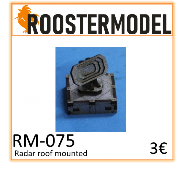Radar roof mounted
