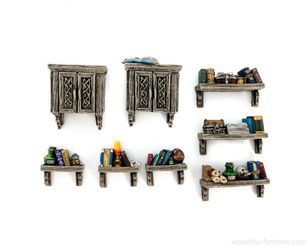 Book Racks / Wand Regale